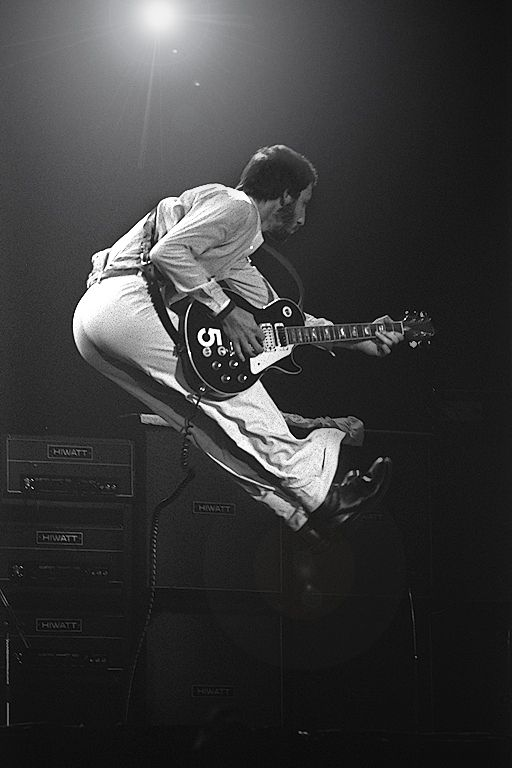 Pete Townshend, Seattle, 1976.