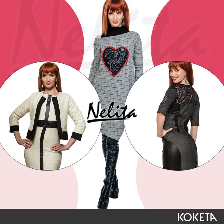 Νέα μοντέλα φορέματα Nelita 💜 👉https://www.koketa.gr/nelita