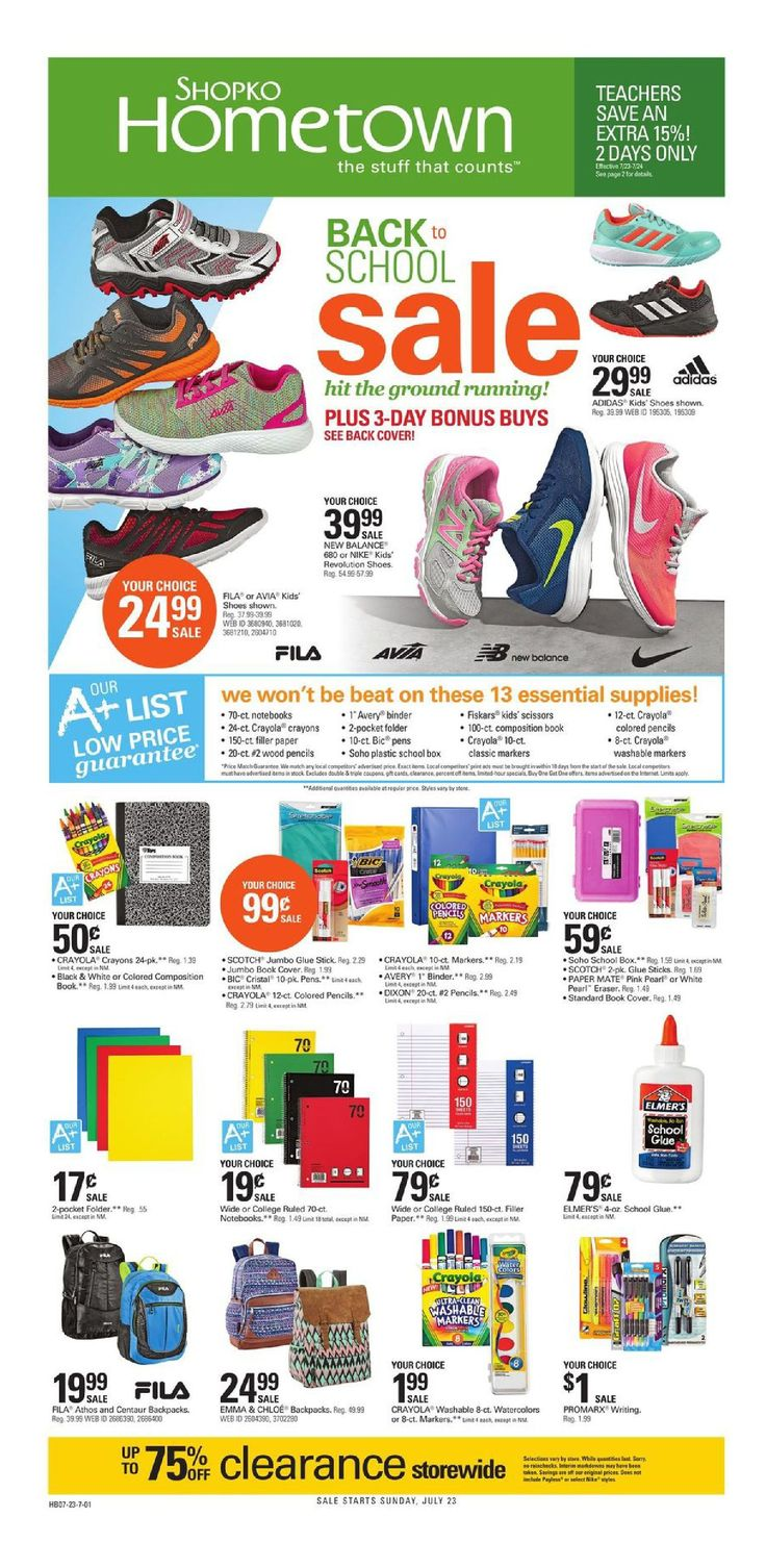 Shopko Weekly Ad July 23 - August 5, 2017 - http://www.olcatalog.com/shopko/shopko-weekly-ad.html
