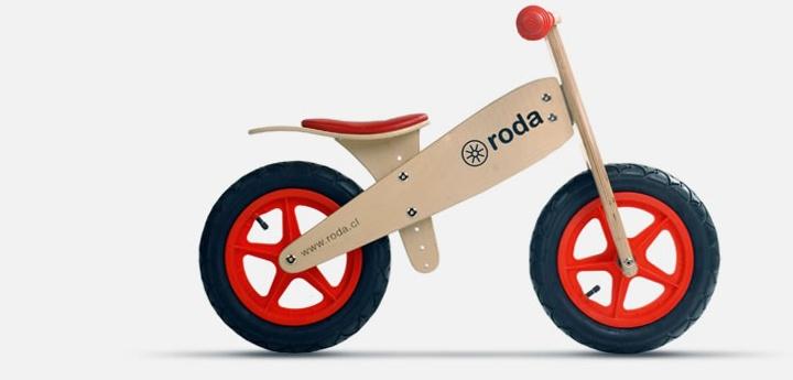 Roda: la forma más fácil y entretenida de aprender a andar en bicicleta para niños desde los 2 años!