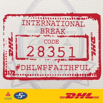Log in to your #DHLWPFaithful dashboard and use this code to continue earning points during the international break!