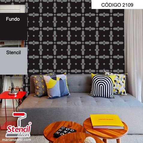 Booby – Stencil Decorativo (molde para pintura) – Stencil Decor