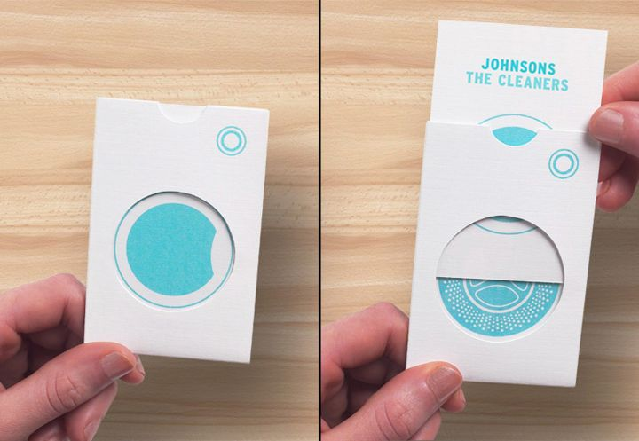 Johnsons The Cleaners branding by Ben Vessey branding