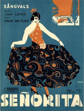 Senorita, 1929 (ill.: Lisa Bauer); ref. 16423