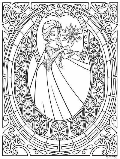 elsa halloween coloring pages - photo#30