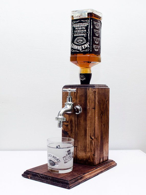 Handmade Wooden Liquor Dispenser, Alcohol Dispenser, Whiskey Dispenser, liquor gift, alcohol gift, whiskey gift - Free shipping worldwide  **LIMITED TIME NEW YEARS 10% OFF ALL PRODUCTS** USE COUPON: TEN2017  Hand made liquor dispenser with a chrome tap. Fits regular sized bottles mainly up to 1 liter.  The dispenser system is built into a large solid block of wood. The wood is hand stained and painted with pure tung oil for an alcohol resistant finish.  Our system is easy to use, just turn…