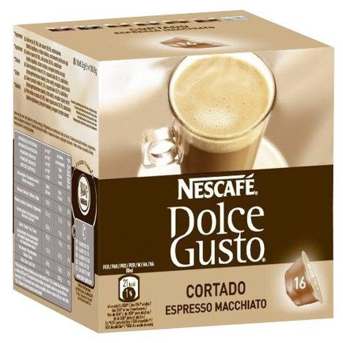 Nescafe Dolce Gusto Cortado Coffee Capsules - http://thecoffeepod.biz/nescafe-dolce-gusto-cortado-coffee-capsules/