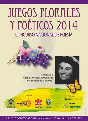 Concurso  Nacional de Poesía – Gana $5.000.000   Konkurs Chile Concursos