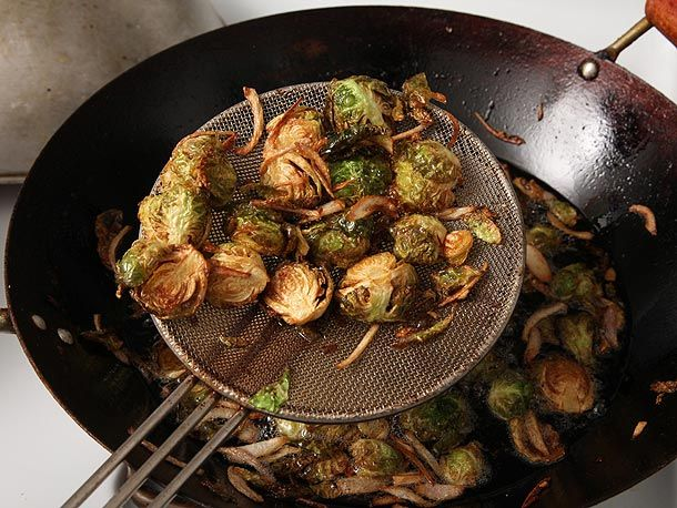 deep fried Brussel's Sprouts!
