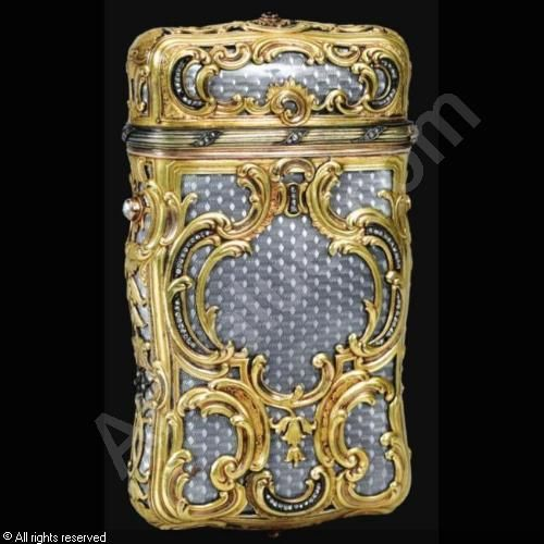 PERCHIN Michael Evlampievich,CIGARETTE CASE,Sotheby's,London