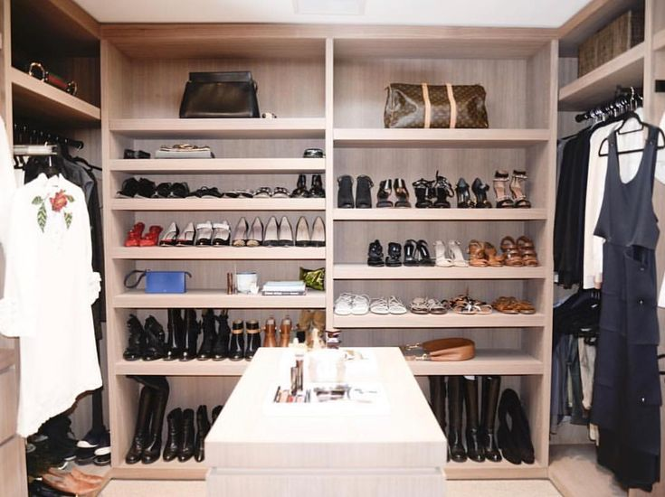 Our CEO and founder, Carisa Janes, has the ultimate closet