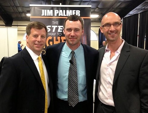 Jim Palmer, Tony Rubleski and Adam Urbanski