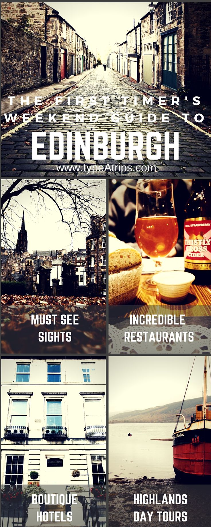 La Guía del Fin de Semana para Edimburgo, Escocia | Planificación de una parada rápida a través de Edimburgo en su camino por Europa? Echa un vistazo a mi guía de viaje rápido para qué hacer, dónde alojarse y cómo moverse en esta majestuosa ciudad. Todo lo que necesitas es unos días en Edimburgo para enamorarse como yo