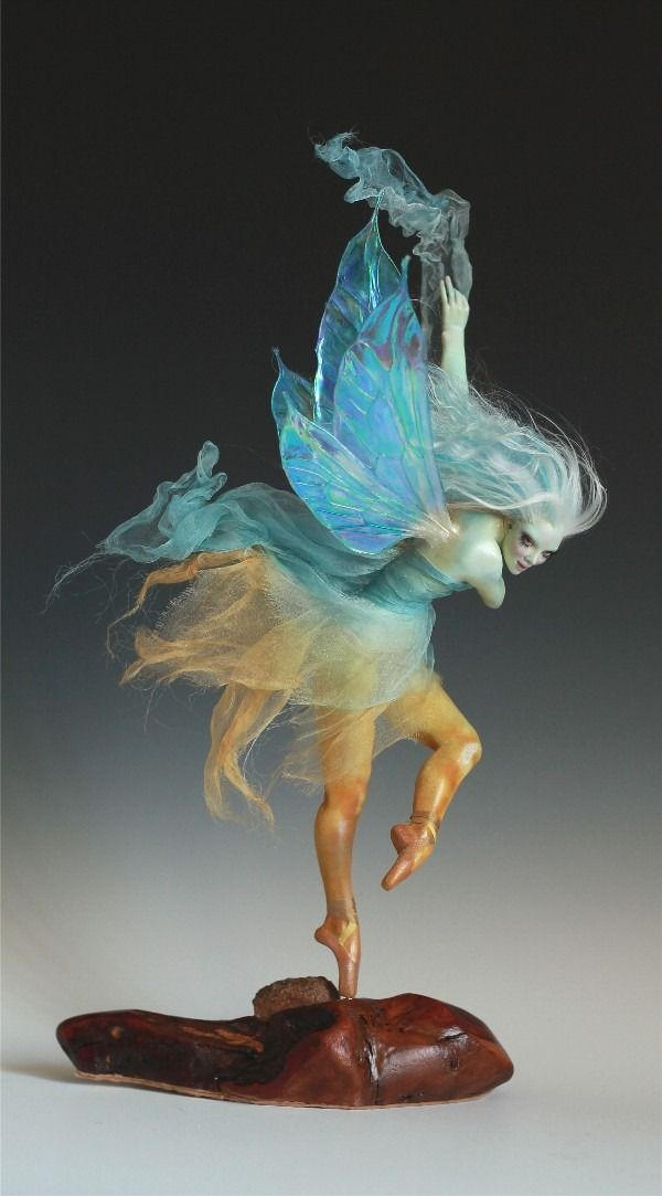 Desert Dancer Faerie Earth Sky by Nicole West | eBay
