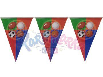 Oyun Topları Doğum Günü Bayrak Afiş Süsü