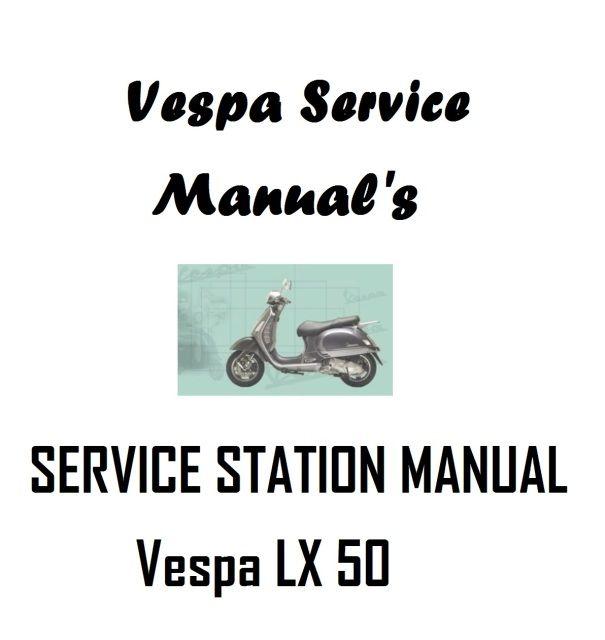 haynes manual vespa lx 50