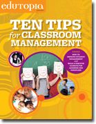 """#5 on our Top 50 list is our classroom guide """"Ten Tips for Classroom Management"""" (also in Spanish)."""