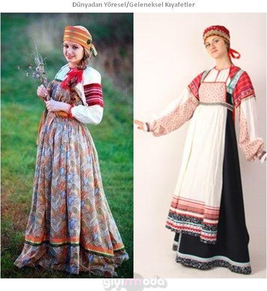 Rusya Geleneksel Kıyafetleri