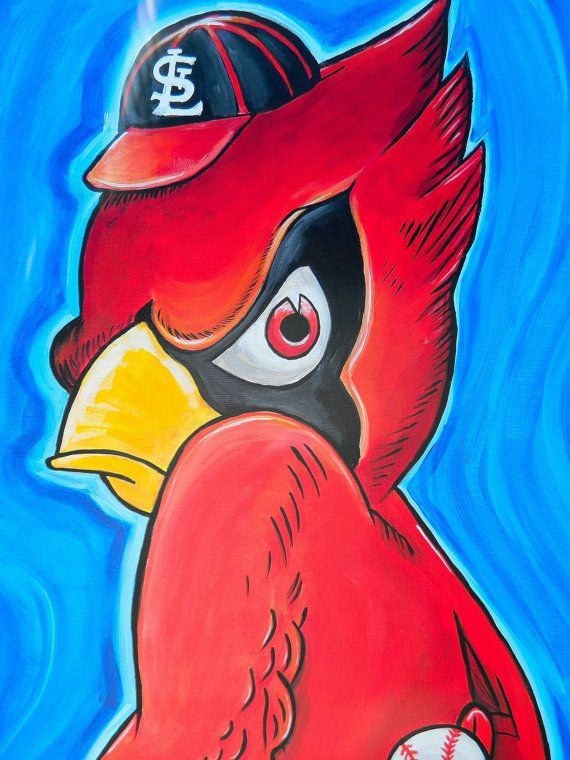 Reserved for Hawgtruth customer St Louis Cardinals by crockerart, $100.00