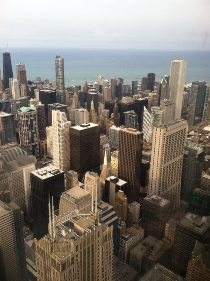 For my junior year church choir trip we took a bus all the way down to Chicago. A few of my close friends and I decided to walk a few miles to the Willis Tower. After taking an elevator up 103 stories we were able to look out from the observatory deck at the top of the tower. The view was amazing to say the least.