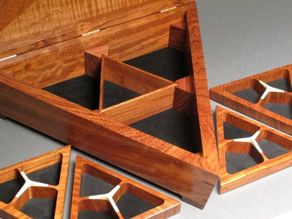 499 best Boxes 3 images on Pinterest Wooden boxes Wood crates