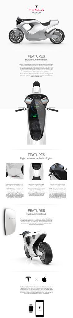 TESLA MODEL M on Behance
