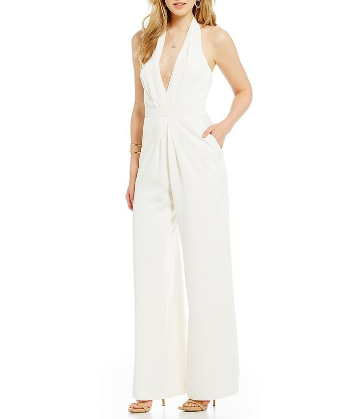 Shop for Jill Jill Stuart Deep V-Neck Halter Jumpsuit at Dillards.com. Visit Dillards.com to find clothing, accessories, shoes, cosmetics & more. The Style of Your Life.