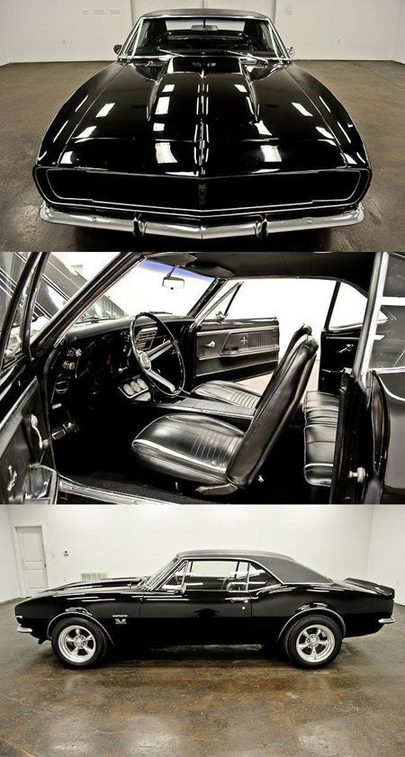 The only thing missing in this 1967 Camaro is a set of 3-point seat belts from Morris Classic!  They also offer emblems, Clear Shot mirrors, lap belts, and rear 3-point seat belts!