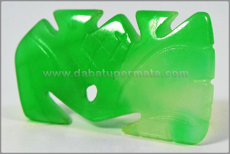 Beautiful Vivid Green Apple JADE/GIOK Burma - GU 036