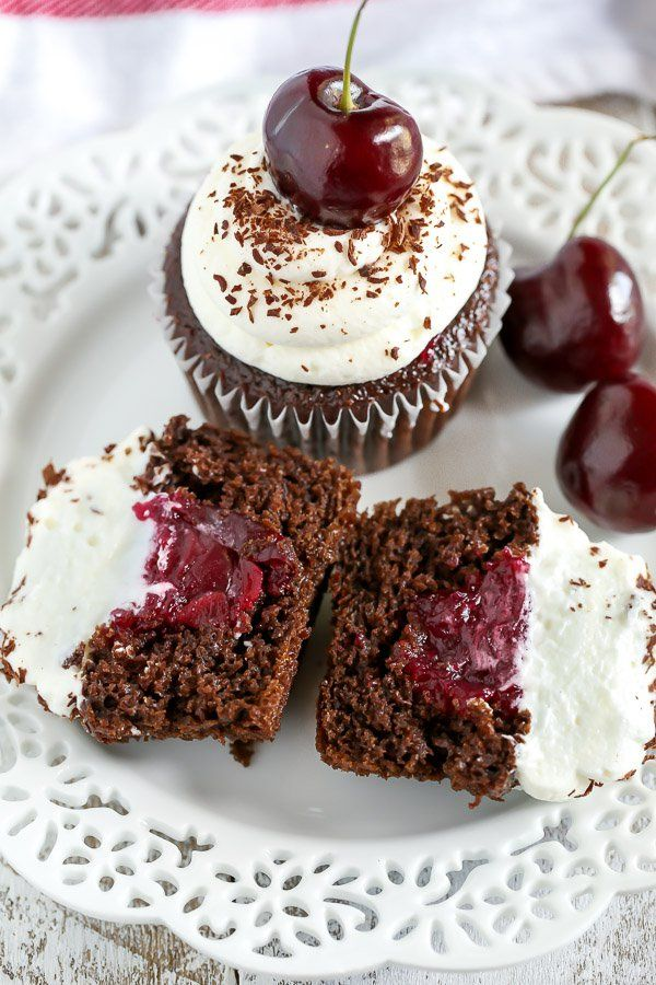 Black Forest Cupcakes - Handle the Heat