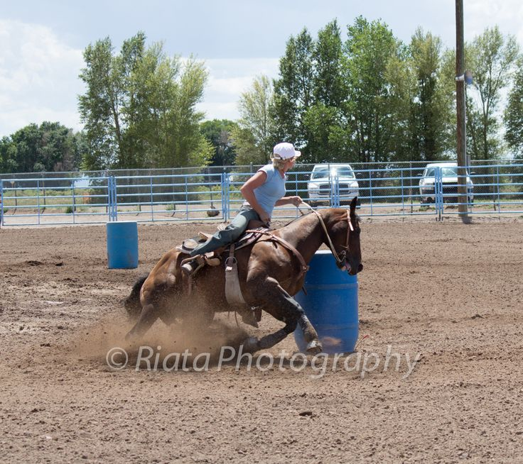 Barrel racing tip: sit until your horse finishes the turn, it will help them if your weight  isn't being thrown around.