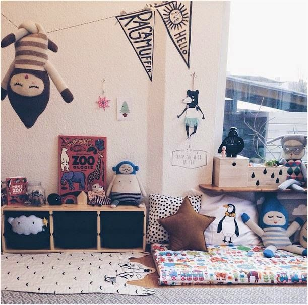 quirky and eclectic #kids #room