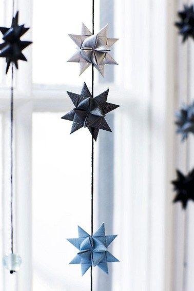 Noël en bleu et blanc au Danemark - PLANETE DECO a homes world