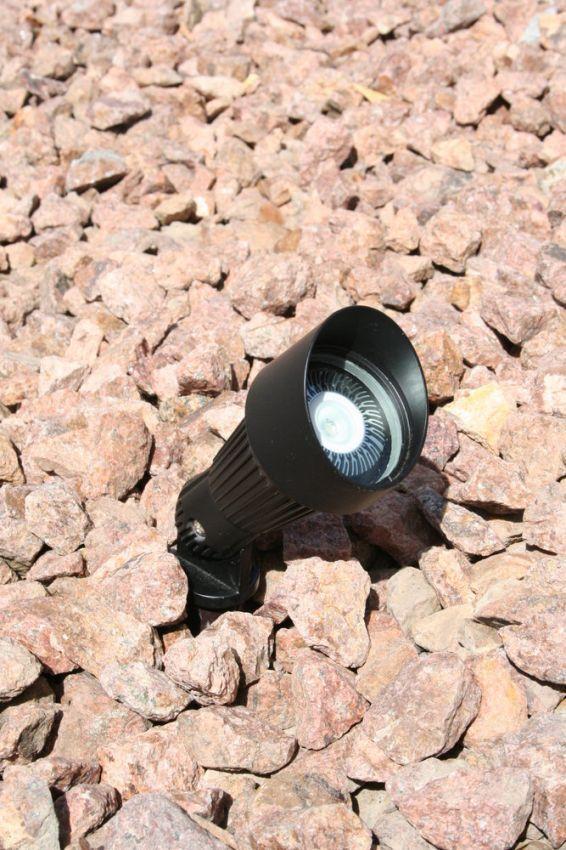 High Output Bright Solar Spot Light