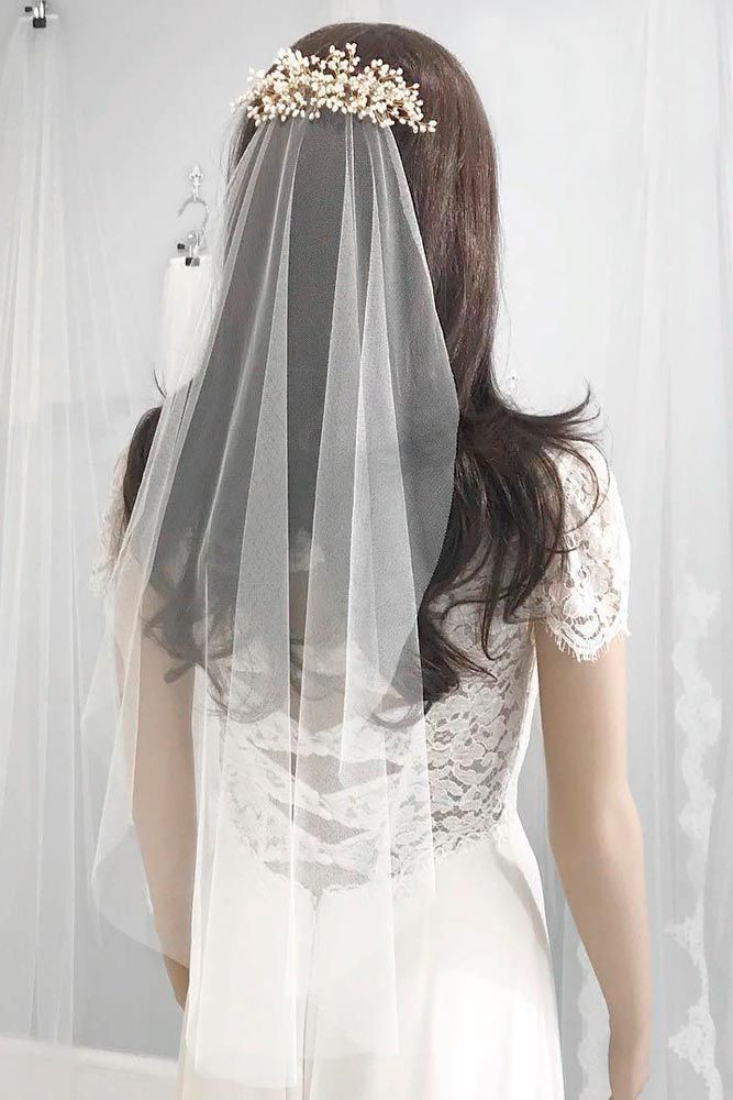 18 Elegant And Charming Wedding Veils For Every Bride From Traditional To Modern Styles 2020 Wedding Veils Short Wedding Hairstyles With Veil Wedding Veil Styles