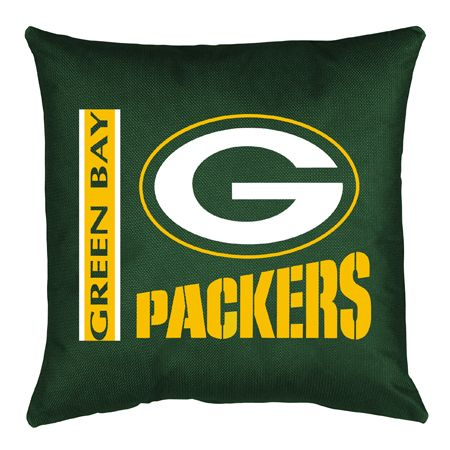 Green Bay Packers NFL Locker Room Collection Toss Pillow