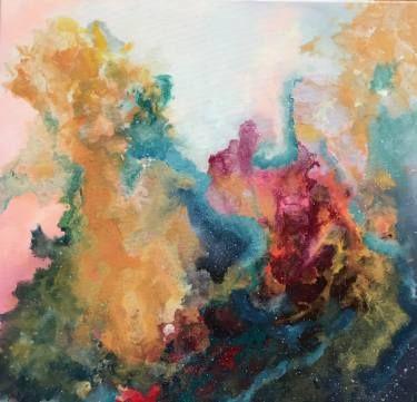 "Saatchi Art Artist Aria Dellcorta; Painting, ""Soul Oxygen"" #art #abstract #saatchiart #new #energizers #fineart #painting #artforsale #academicart #originalart @ariadellcorta"