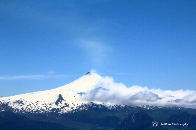 Volcán Villarrica.