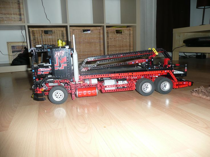 Lego MOC's. This is one of my friends MOC's, a Cherry Picker made from the cab of 8285.