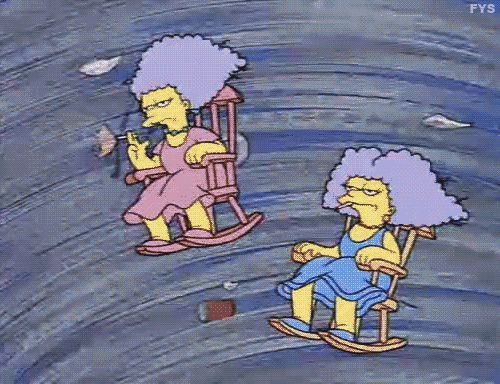 the simpsons patty and selma