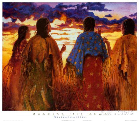 Dancing 'Til Dawn Art Print
