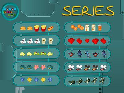 Juegos de Memoria, lógica y atención: Juegos de Series