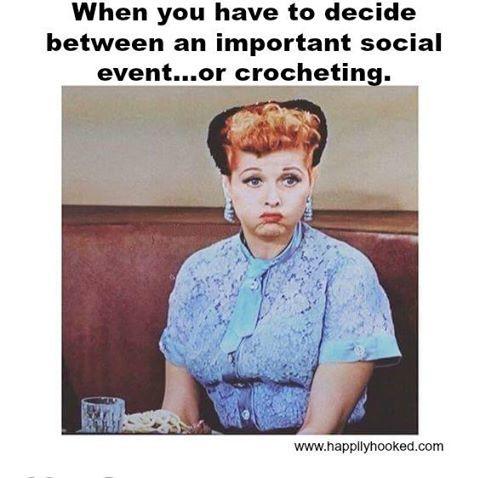 Or knitting...