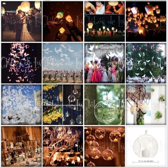 globos de cantoya globos de luz bodas eventos decoracion
