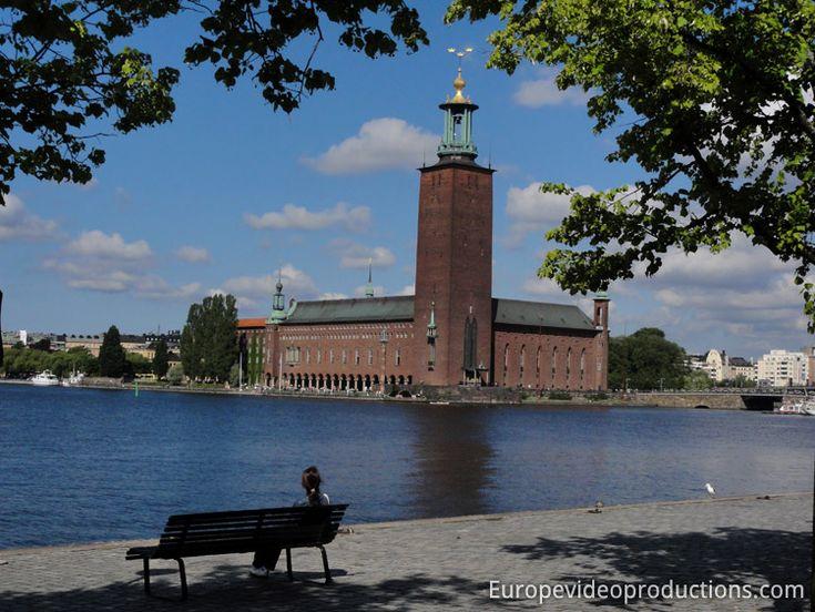 Mairie de Stockholm en Suède