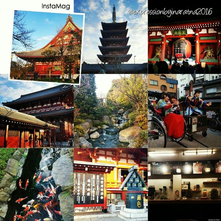 When people meet tradition & tolerance - Asakusa, Tokyo Japan