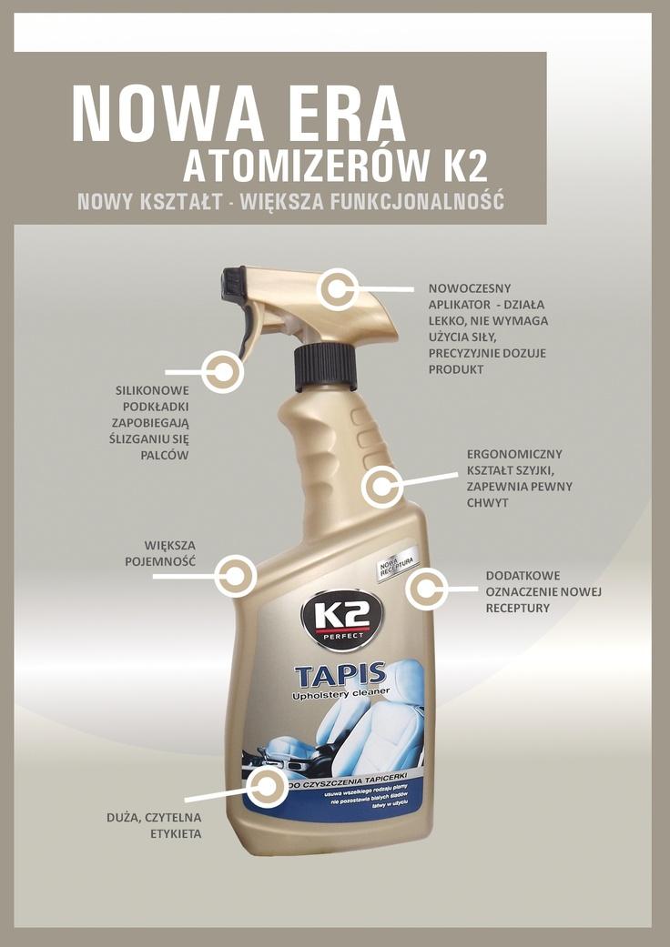 Nowa era atomizerów K2  #k2 #autokosmetyki #auto
