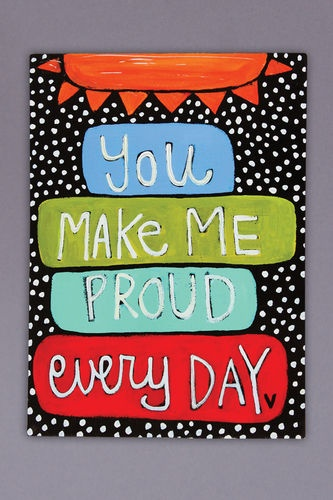 My children know this  - would be great to see it everyday!  Great to paint for playroom