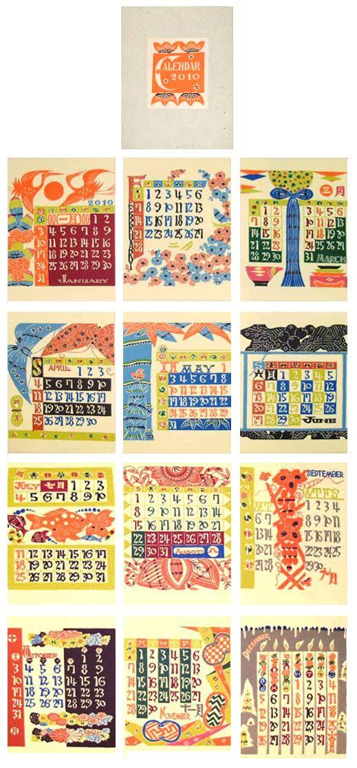 2010 Calendar ----Reprint the 1965---