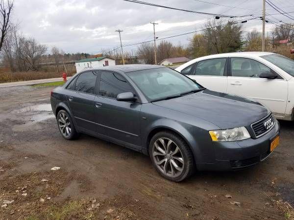 2005 Audi A4 1.8T Quattro (AWD) (Hogansburg) $4250: < image 1 of 8 > 2005 Audi A4 fuel: gasodometer: 160000title status: cleantransmission:…